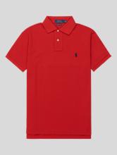 Image sur Polo Custom Fit coton piqué