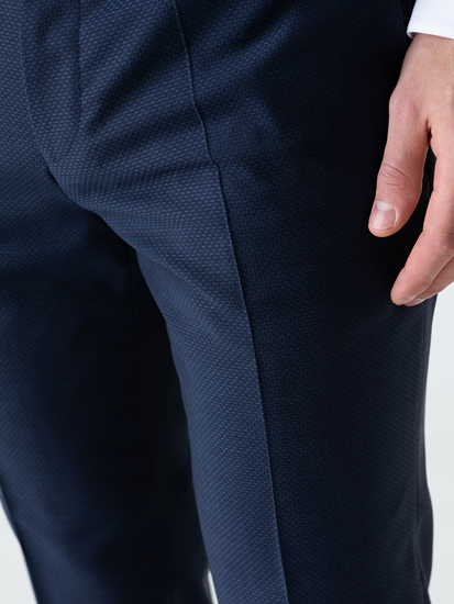Bild von Business Hose mit Micro-Muster