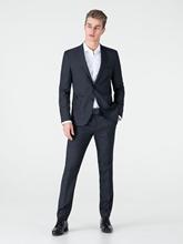 Bild von Anzug 2-teilig im Extra Slim Fit mit Micro-Muster