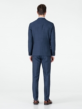 Bild von Anzug 3-teilig im Slim Fit mit Karo