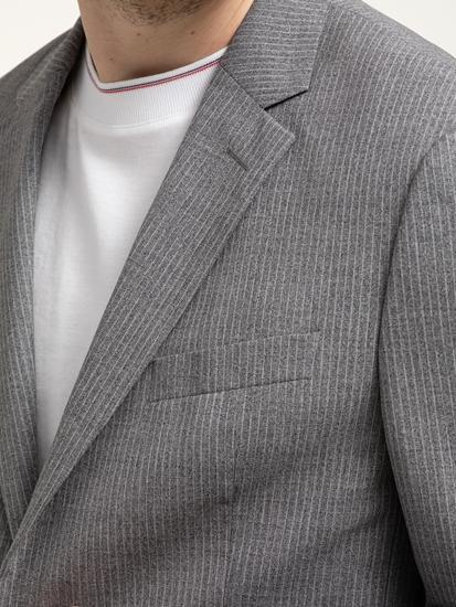 Image sur Costume 2 pièces Regular Fit à fines rayures