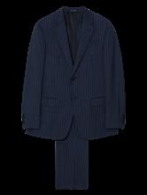 Bild von Anzug 2-teilig mit Nadelstreifen