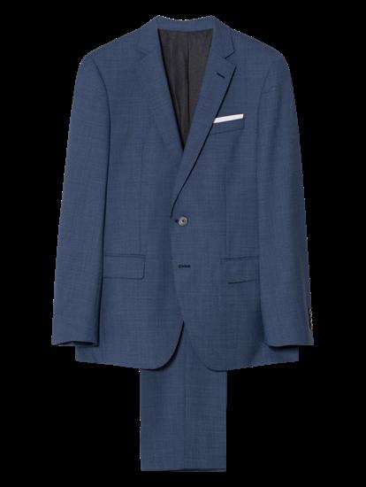Bild von Anzug im Slim Fit mit Strukur