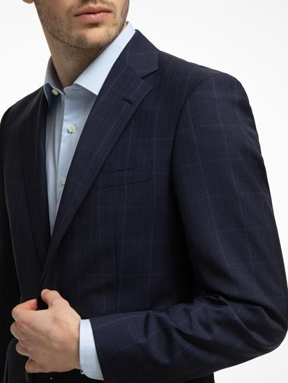Image sur Costume Regular Fit à carreaux