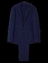 Bild von Anzug 2-teilig mit Struktur