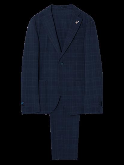 Image sur Costume 2 pièces Regular Fit à carreaux Prince de Galles