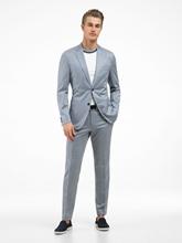 Bild von Jersey Anzug 2-teilig mit Micro-Muster