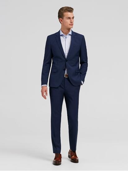 Bild von Anzug 2-teilig im extra Slim Fit mit Struktur