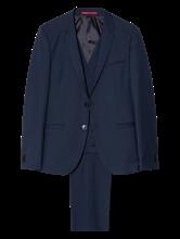 Bild von Anzug 3-teilig mit Struktur