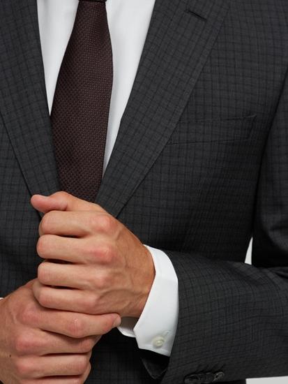 Bild von Anzug 2-teilig im Regular Fit mit Karo