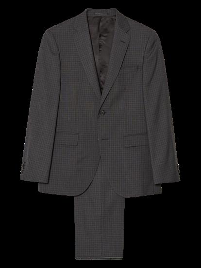 Image sur Costume 2 pièces Regular Fit à carreaux