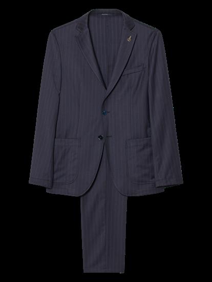 Bild von Anzug 2-teilig mit Streifen