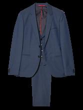 Bild von Anzug 3-teilig im Extra Slim Fit mit Struktur