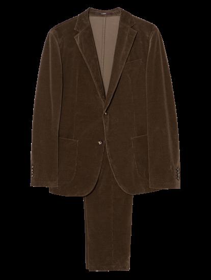 Image sur Costume 2 pièces velours côtelé