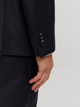Bild von Anzug 2-teilig im Shaped Fit mit Streifen