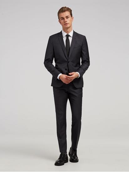 Image sur Costume Extra Slim-Fit à micro-motif