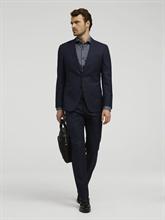 Bild von Anzug 2-teilig im Slim Fit mit Micro-Karo