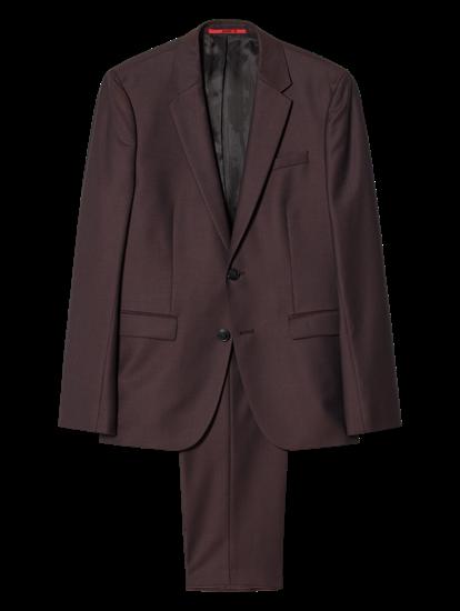 Bild von Anzug im Extra Slim Fit mit Micro-Struktur