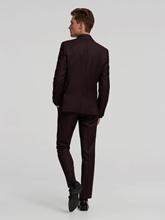 Image sur Costume Extra Slim Fit à micro-structure
