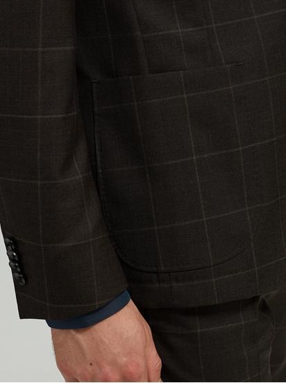 Image sur Veston Shaped Fit carreaux grille