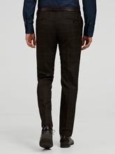 Image sur Pantalon business Shaped Fit carreaux grille