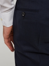 Image sur Business Hose im Regular Fit mit Micro-Muster