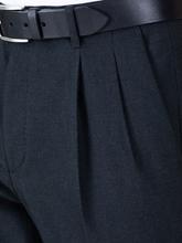 Bild von Hose im Slim Fit mit Bundfalten
