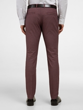 Image sur Pantalon Slim Fit texturé