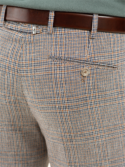 Image sur Pantalon motif Prince-de-Galles VICENZA