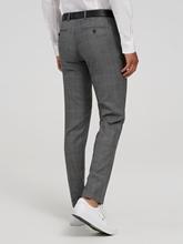 Image sur Pantalon business à carreaux Prince de Galles