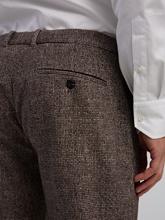 Bild von Bundfaltenhose mit Pied de Poule