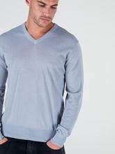 Image sur Pullover laine mérinos avec coudières