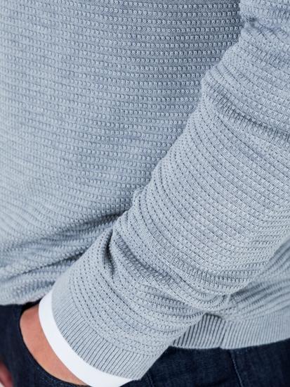Bild von Pullover im Regular Fit mit Struktur