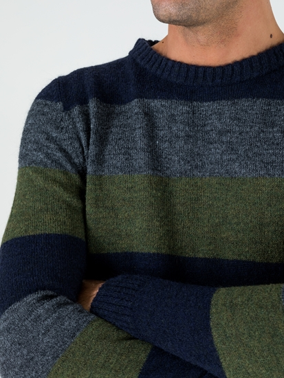 Image sur Pullover à rayures