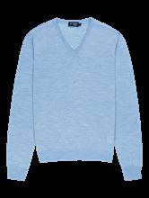 Image sur Pullover moucheté avec coudières