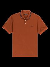 Bild von Polo-Shirt mit Kontraststreifen am Kragen