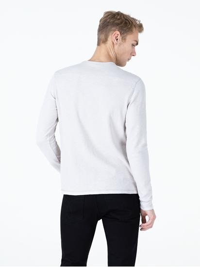 Image sur Shirt texturé et logo