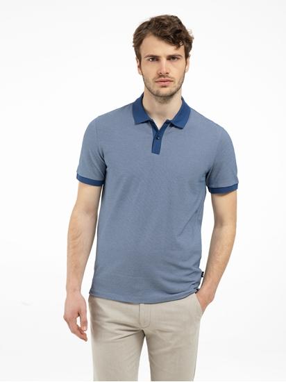 Bild von Polo-Shirt im Regular Fit mit Streifen