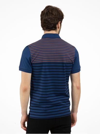 Image sur Polo Regular Fit à rayures