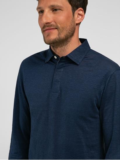 Bild von Polo-Shirt im Slim Fit aus Flammgarn