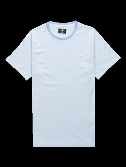 Bild von T-Shirt im Classic Fit in melierter Optik