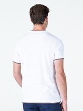 Bild von T-Shirt mit Kontrasteinsatz und Brusttaschen