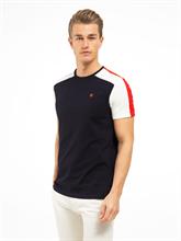 Image sur T-shirt tricolore