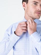 Image sur Chemise Slim Fit à carreaux grille