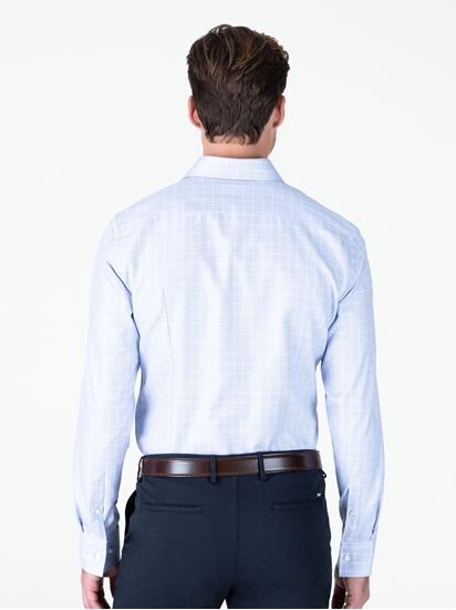 Bild von Hemd im Slim Fit mit Gitterkaro