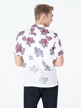 Image sur Chemise imprimé-fleurs