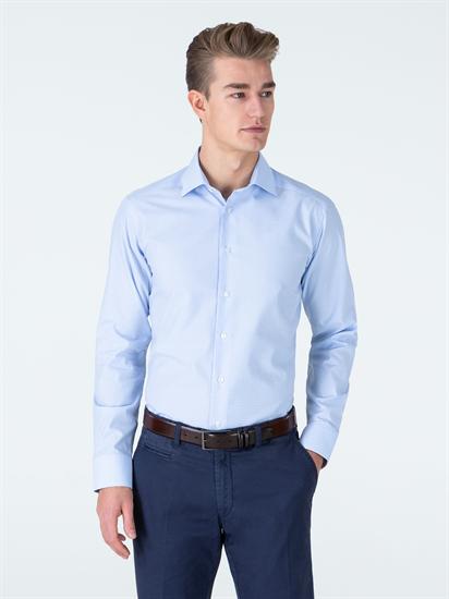 Bild von Hemd im Slim Fit mit Vichy-Karo
