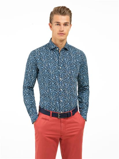Image sur Chemise avec imprimé floral