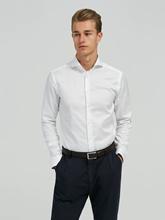 Bild von Hemd mit Ausputz im Super Slim Fit