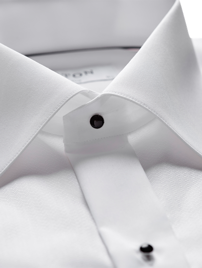Bild von Hemd im Slim Fit mit Fischgrat-Muster